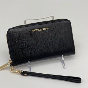 Michael Kors JST LG Flat MF Phone Case Wallet